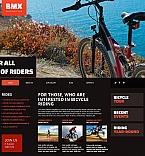 Sport Moto CMS HTML  Template 47577