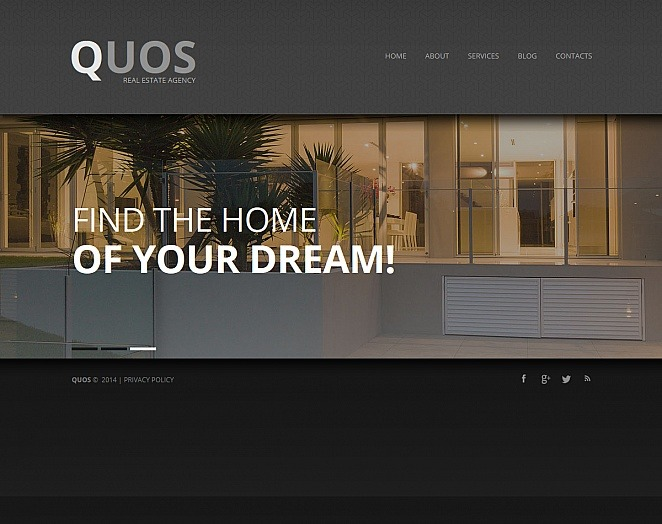 Plantilla Moto CMS HTML #47578 para Sitio de Agencia inmobiliaria New Screenshots BIG