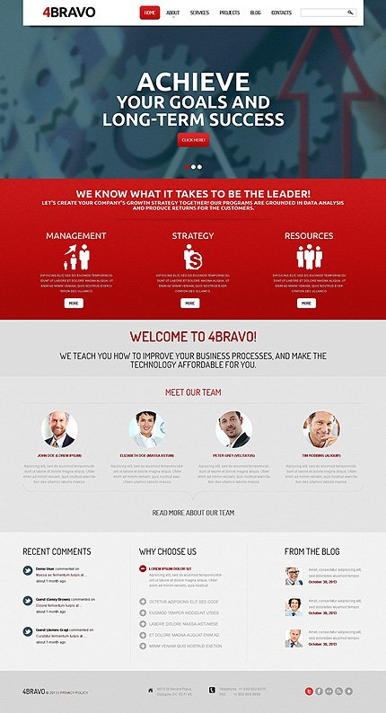 Drupal Template 47584 Main Page Screenshot