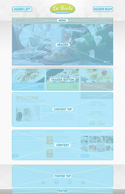 Drupal Template 47585 Main Page Screenshot