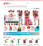 Animals & Pets Jigoshop Template 47586