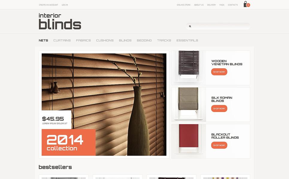 Tema VirtueMart  #47595 per Un Sito di Decorazione Finestre New Screenshots BIG