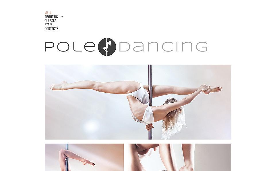 Modèle Web adaptatif  pour studio de danse New Screenshots BIG