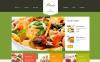 Адаптивний WordPress шаблон на тему кулінарія New Screenshots BIG
