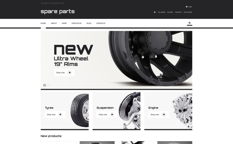 Auto Towing Responsive WooCommerce Theme
