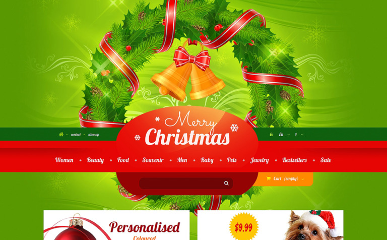 Christmas Gift Shop PrestaShop Theme