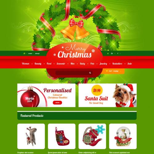 Merry Christmas - Responsive PrestaShop Template