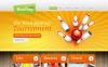 Drupal шаблон №47518 на тему боулинг New Screenshots BIG
