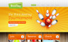 Drupal Template over Bowling  New Screenshots BIG