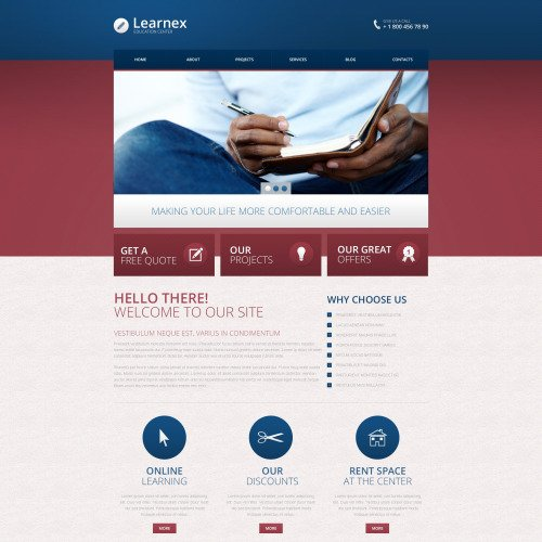 Learnex - Responsive Drupal Template