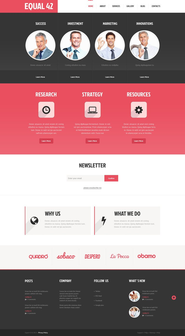 Marketing Agency Responsive WordPress Theme New Screenshots BIG