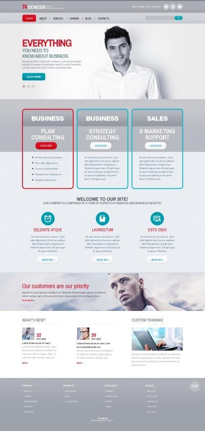 Modèle Web adaptatif  pour site de services aux commerçants