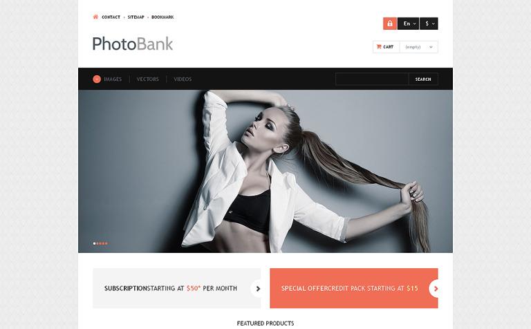 Photo and Video Content PrestaShop Theme