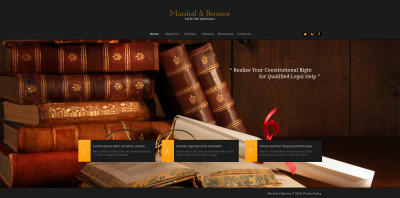 Law Firm Responsive Moto CMS HTML Sablon