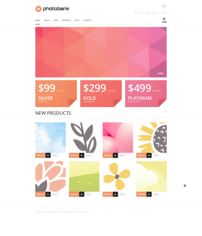 Stock Photo Responsive WooCommerce Thema