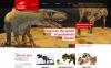 Responsive WordPress thema over Museum  New Screenshots BIG