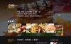 Reszponzív Kávézó és étterem  WordPress sablon New Screenshots BIG