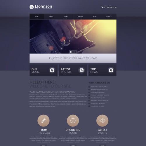 J. Jhonson - Responsive Drupal Template
