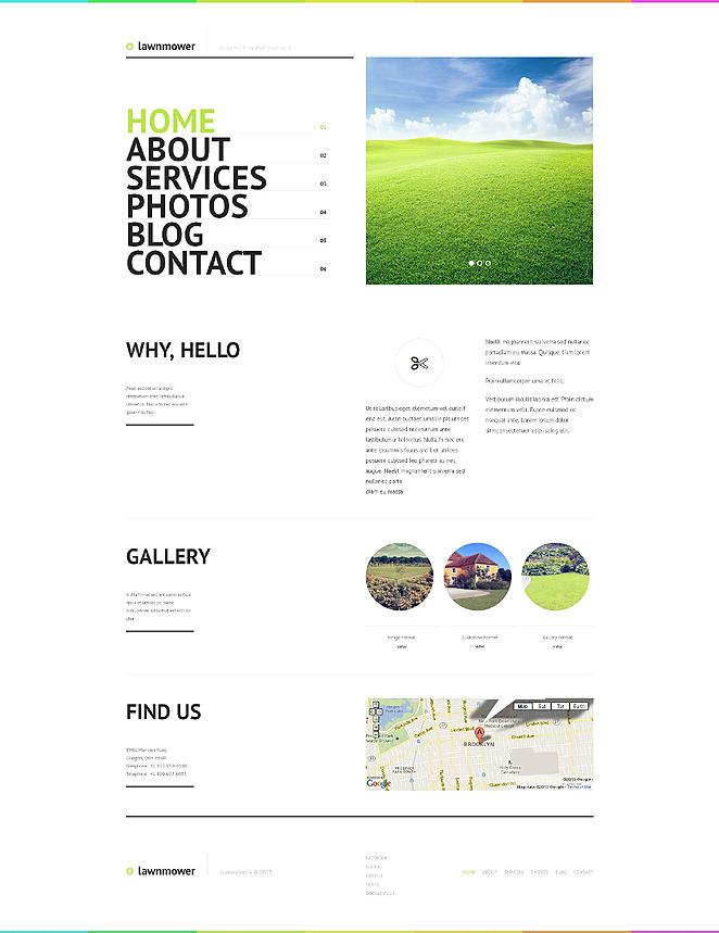 Stock Photo Responsive WordPress Theme New Screenshots BIG