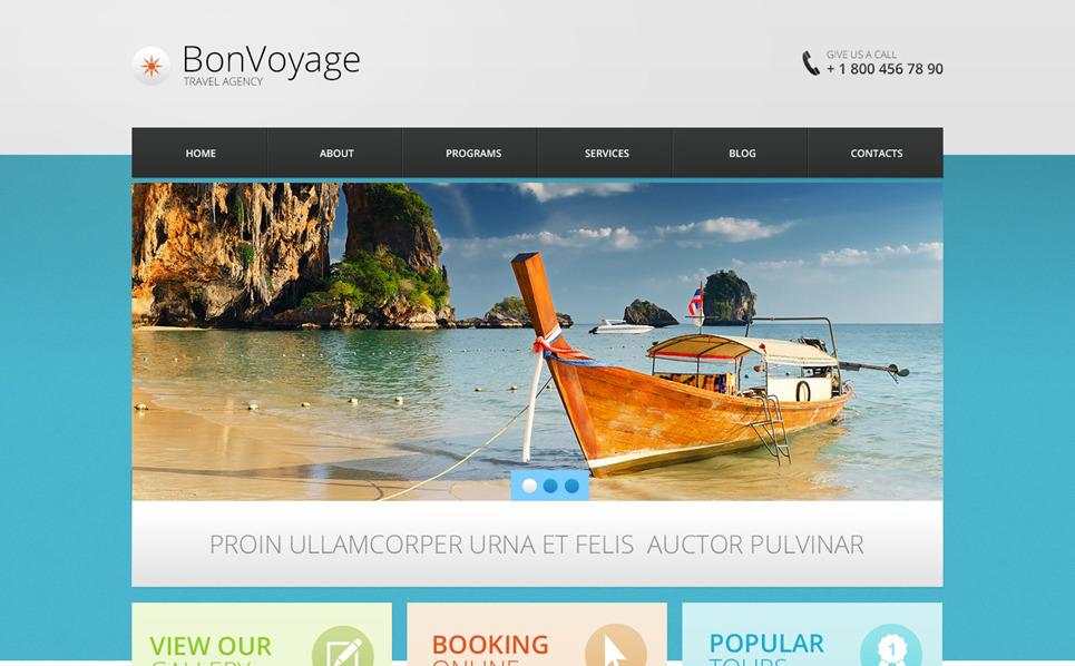 Template Drupal Flexível para Sites de Agencia de Viagens №47505 New Screenshots BIG