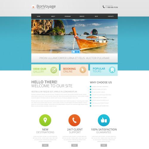 Bon Voyage - Responsive Drupal Travel Agency' Template