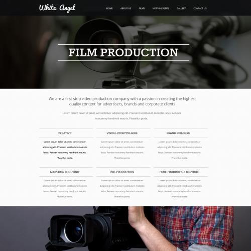 White Angel - Responsive Website Template