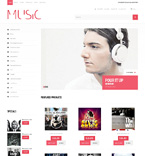 Music WooCommerce Template 47603