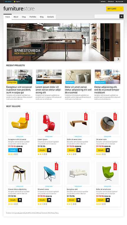 ADOBE Photoshop Template 47604 Home Page Screenshot