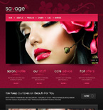Beauty Drupal  Template 47607