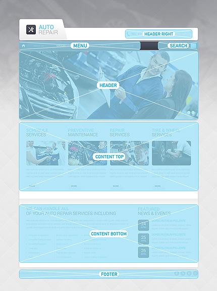 Drupal Template 47608 Main Page Screenshot