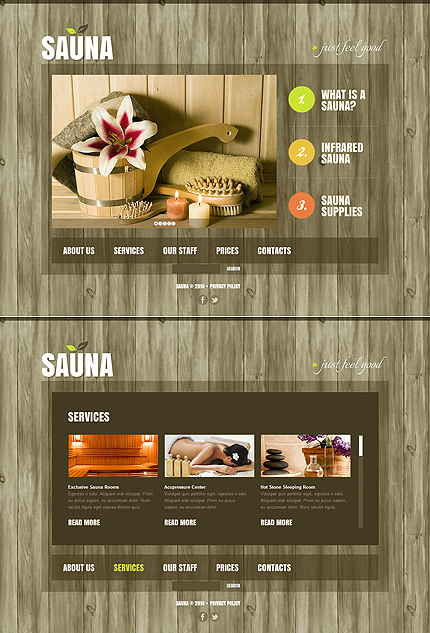 ADOBE Photoshop Template 47614 Home Page Screenshot