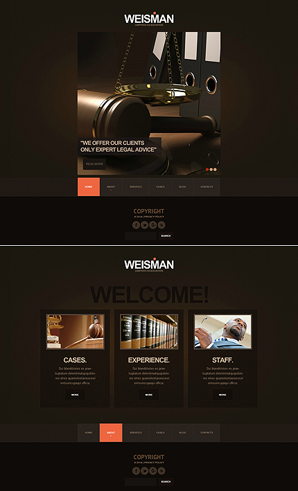ADOBE Photoshop Template 47616 Home Page Screenshot