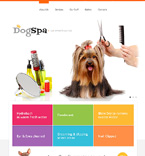 Animals & Pets Website  Template 47636