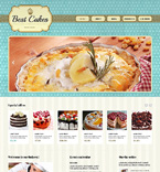 Food & Drink Website  Template 47639