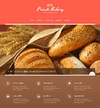 Food & Drink Website  Template 47643