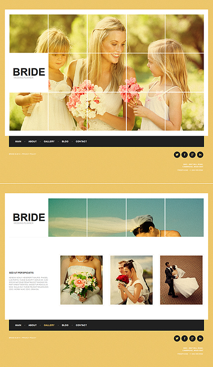 ADOBE Photoshop Template 47652 Home Page Screenshot