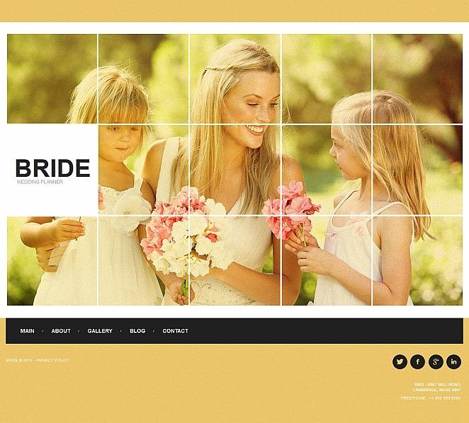 Premium Moto CMS HTML Template over Huwelijksplanner  New Screenshots BIG