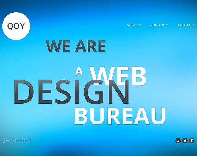 Web Design Portfolio Template with Differently Colored Pages - image
