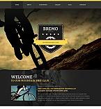 Sport Moto CMS HTML  Template 47665