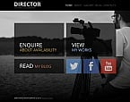 Art & Photography Moto CMS HTML  Template 47668