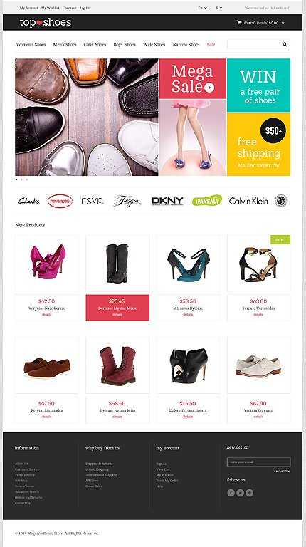 Magento Theme/Template 47680 Main Page Screenshot