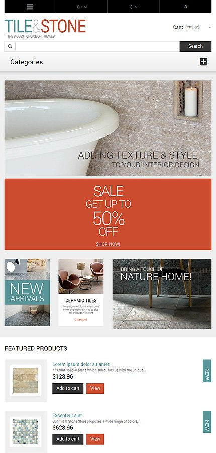 ADOBE Photoshop Template 47682 Home Page Screenshot