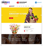 Food & Drink Website  Template 47684
