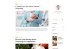 Responsive Grocmart - Grocery Store Multipage Classic HTML Web Sitesi Şablonu