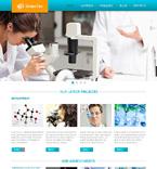 Science Website  Template 47685