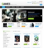 Games osCommerce  Template 47687