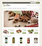 Food & Drink osCommerce  Template 47688
