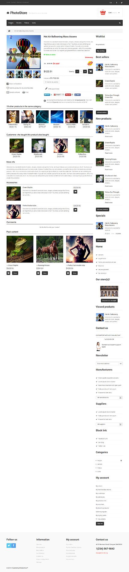 ADOBE Photoshop Template 47689 Home Page Screenshot