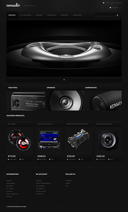 ADOBE Photoshop Template 47690 Home Page Screenshot