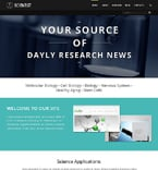 Science Joomla  Template 47693